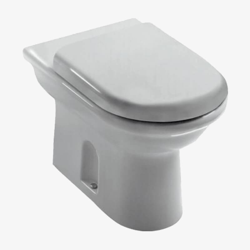 Vaso a terra esedra ideal standard epicastore - Prezzi sanitari bagno ideal standard ...