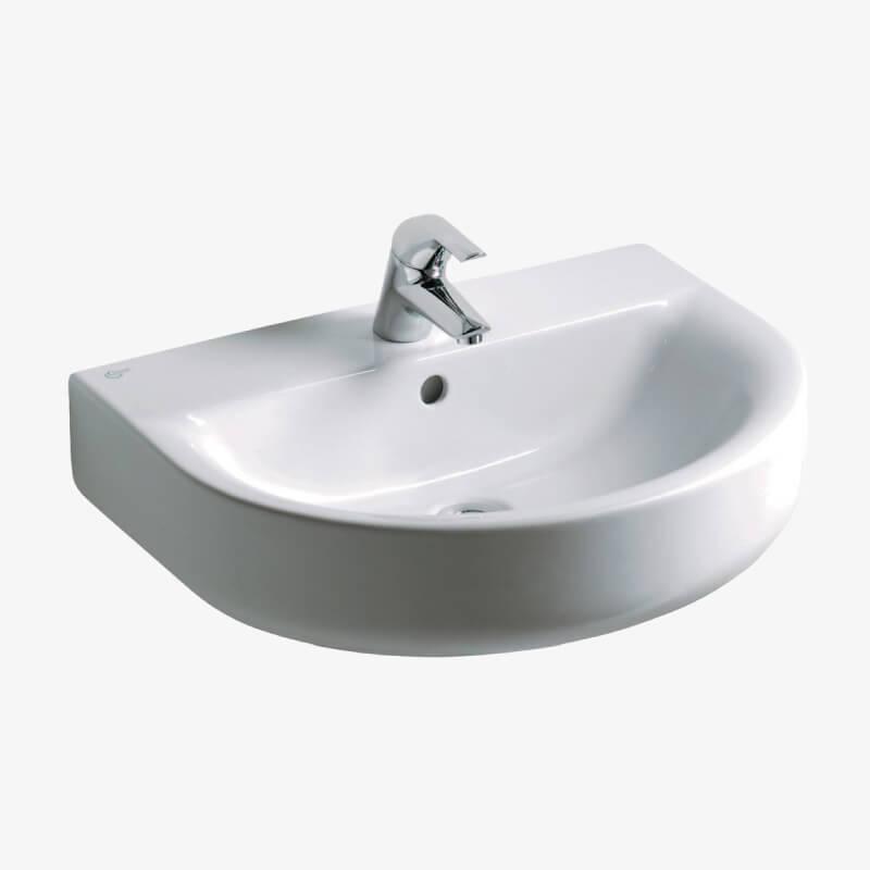 Ideal Standard Lavabi Sospesi.Lavabo 60 Tondo Connect Ideal Standard Epicastore