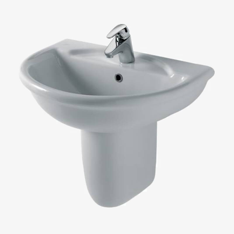 Lavabo 68 esedra ideal standard epicastore - Lavabo bagno ideal standard ...