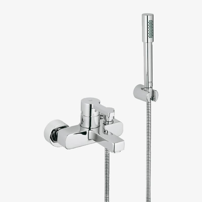 mix vasca doccia con doccino lineare cromo grohe epicastore