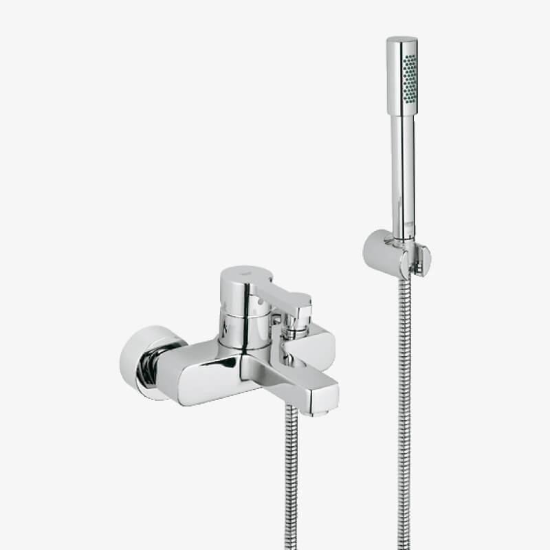 Mix vasca doccia con doccino lineare cromo grohe epicastore - Miscelatori grohe bagno ...