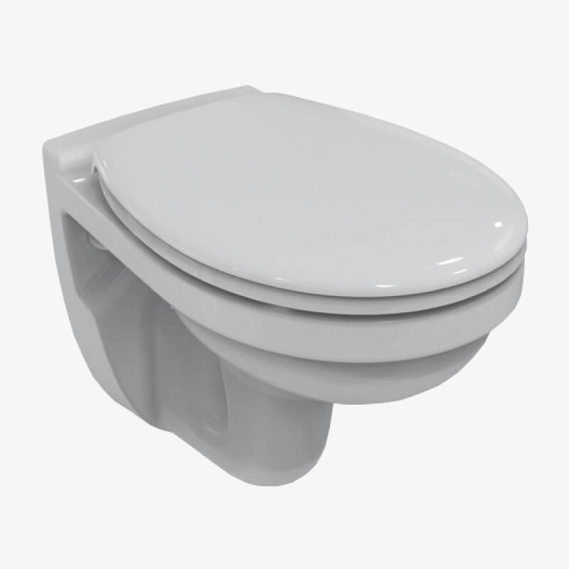 Vaso sospeso con sedile quarzo 36 x 52 ceramica dolomite for Ceramica dolomite