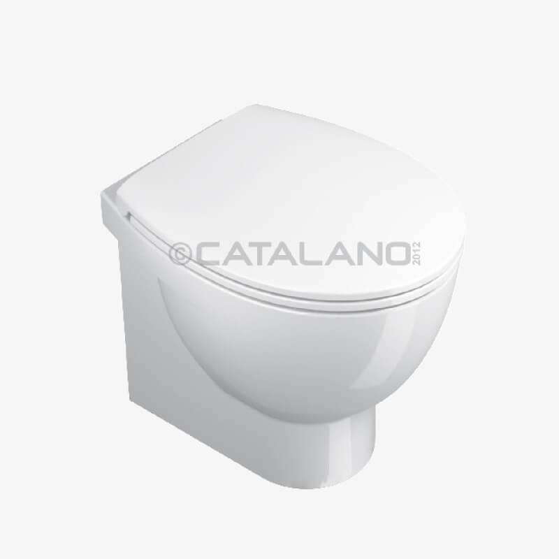 VASO SCARICO PARETE NEW LIGHT 50 37 x 50 CERAMICA CATALANO – Epicastore
